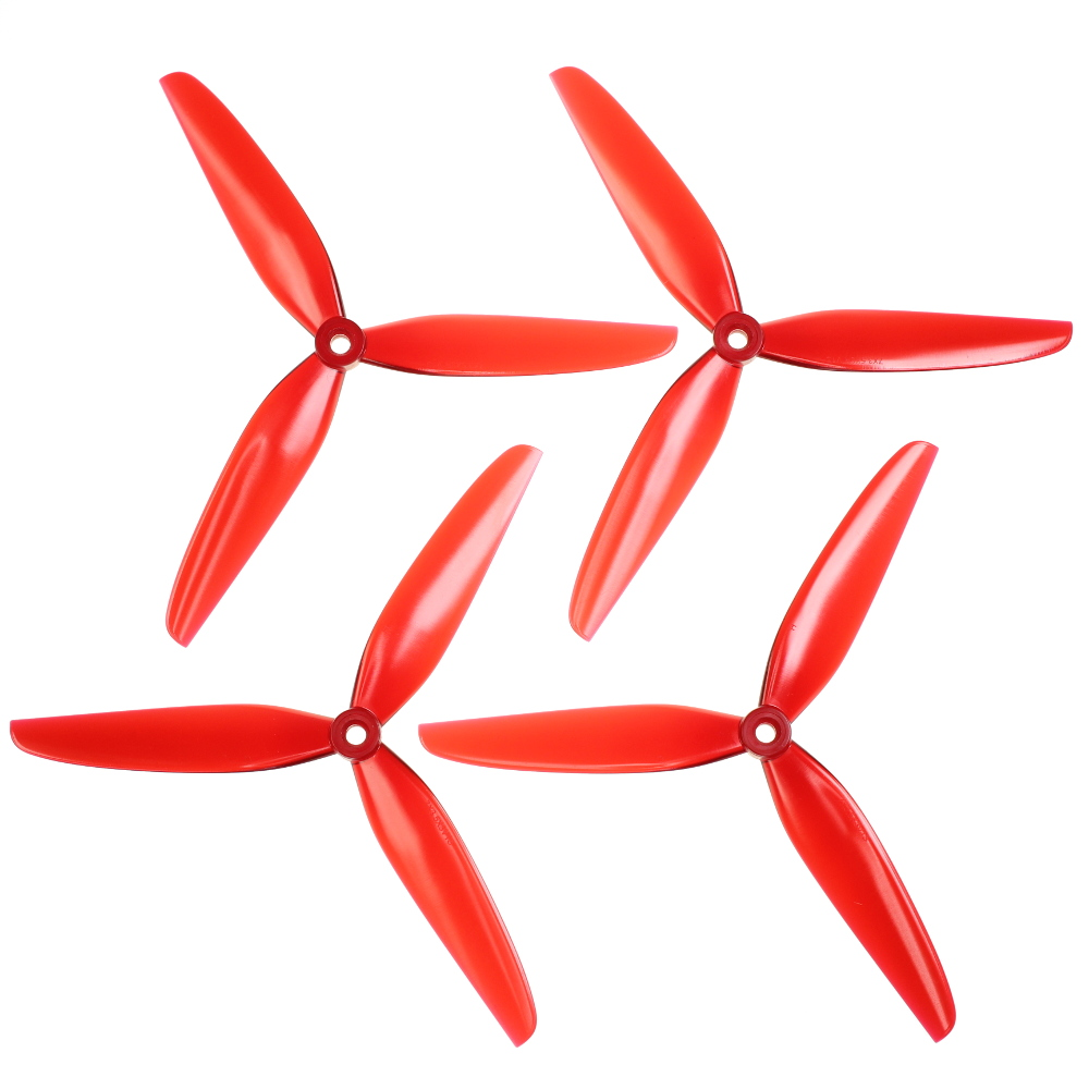 "HQProp 3 Blade 7""x3,5x3 V1S Light Red"